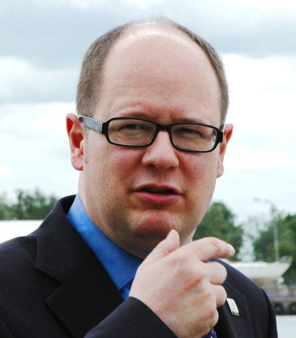 Paweł Adamowicz - prezydent Gdańska.