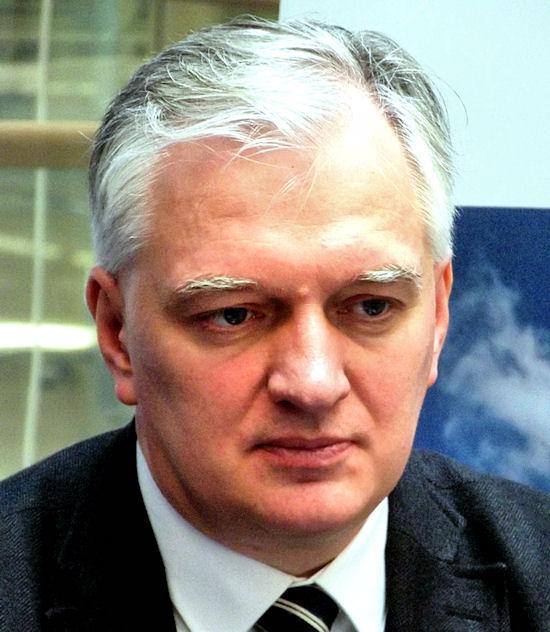 Jarosław Gowin - minister sprawiedliwości.