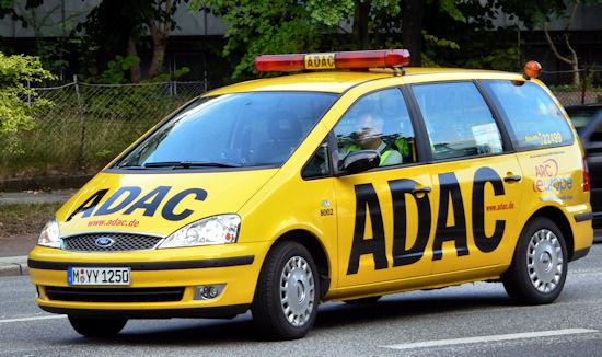 Ranking awaryjności - ADAC 2013