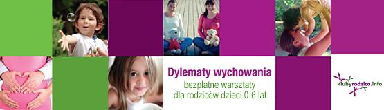 """""""Dylematy wychowania"""" - bezpłatne warsztaty dla rodziców"""