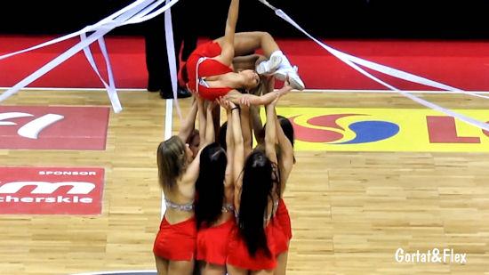Cheerleaderki z Trójmiasta. Dziewczyny z Gdyni i Sopotu w akcji.