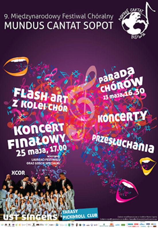 Międzynarodowy Festiwal Chóralny MUNDUS CANTAT Sopot 2013