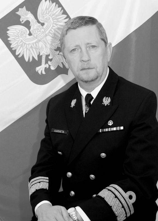 Wiceadmirał Andrzej Karweta.