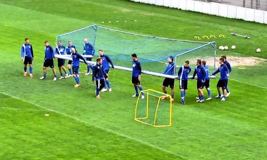"Marcus da Silva: ""Deleu to dobry chłopak"". Trening Arki Gdynia"