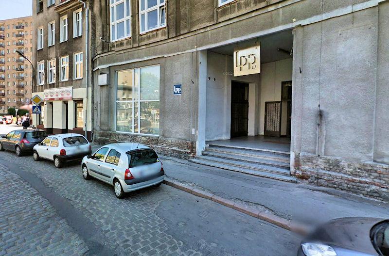 Siedziba gdańskiej spółki LPP znajduje się przy ulicy Łąkowej.