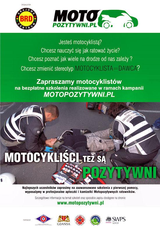 Motopozytywni motocykliści w Gdańsku