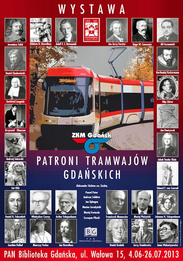 """""""Patroni gdańskich tramwajów"""" - dla miłośników historii i pasjonatów komunikacji miejskiej"""