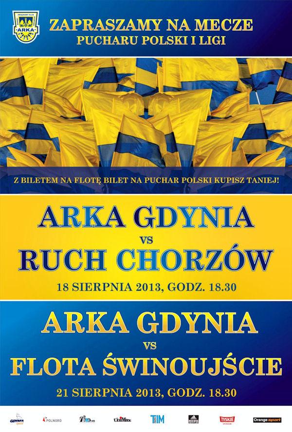 Mecz Arka Gdynia – Ruch Chorzów i Dzień Dawcy Szpiku