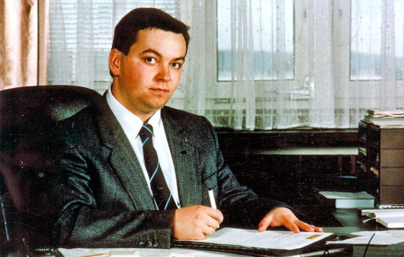 Janusz Leksztoń pod koniec lat 90. Jeden z najbogatszych Polaków. Założyciel firmy ELGAZ.