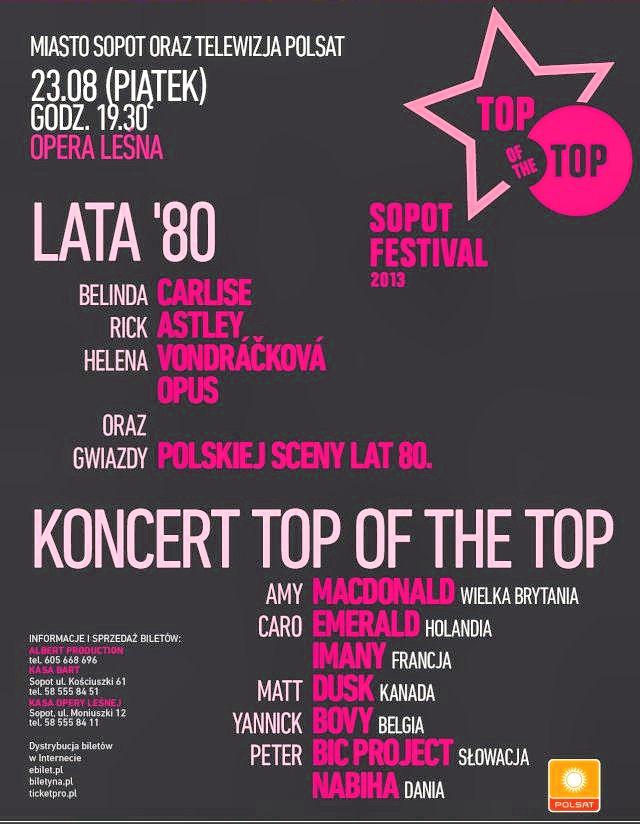 SOPOT TOP OF THE TOP FESTIVAL 2013