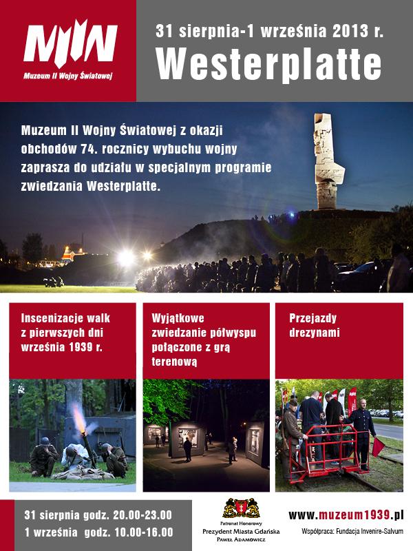 Obchody 74. rocznicy wybuchu II wojny światowej na Westerplatte