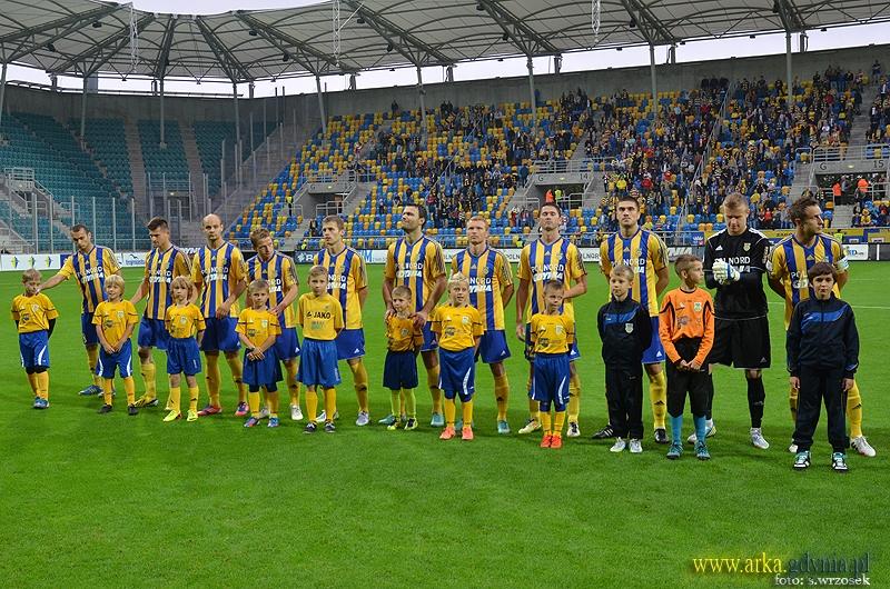 Arka Gdynia – Miedź Legnica 0:0