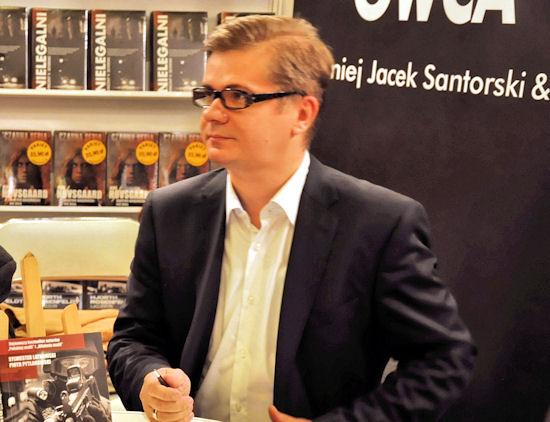 """Sylwester Latkowski, redaktor naczelny tygodnika """"Wprost""""."""