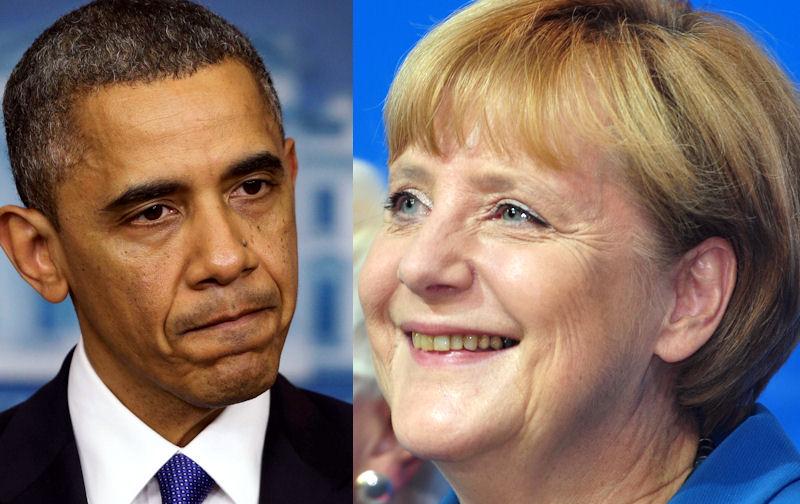 Merkel ograła Obamę podsłuchem