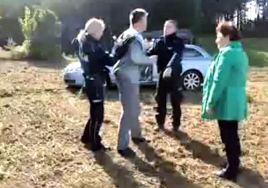 """""""Policja bytowska w akcji"""" - filmik z policyjnej interwencji bije rekordy oglądalności"""