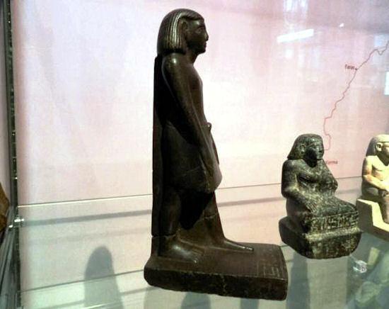 Naukowcy zdjęli klątwę faraonów z egipskiej  figurki Neb-Seine.