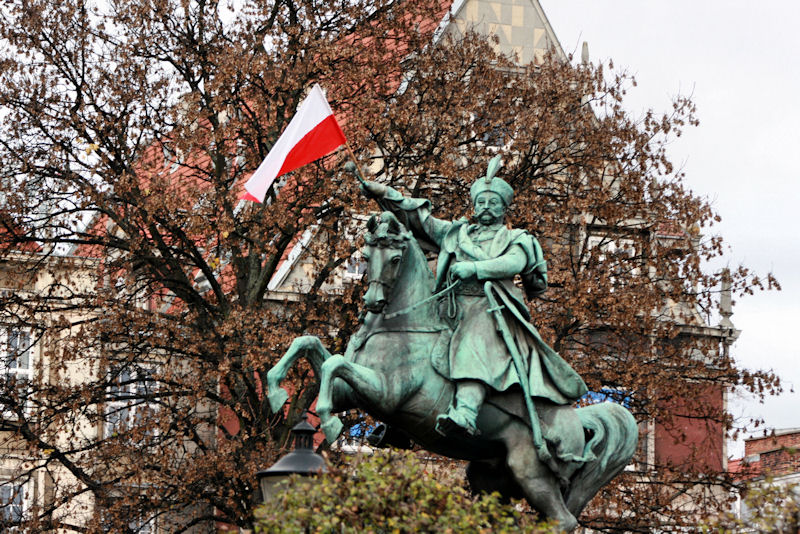 Pomnik Jana III Sobieskiego.