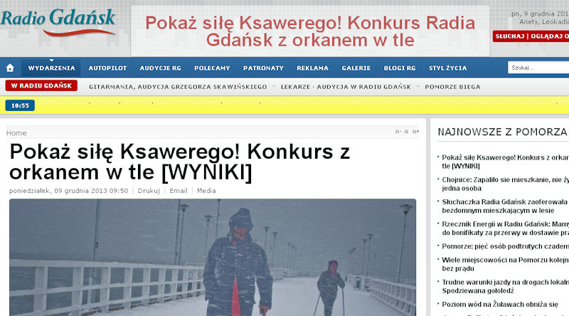 Konkursowe zdjęcia można obejrzeć na stronie internetowej Radia Gdańsk.