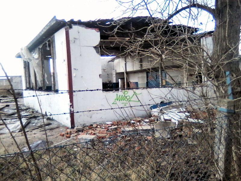 Gdańskie widoki - ulica Siennicka. Codziennie jeździ tędy tysiące ludzi...