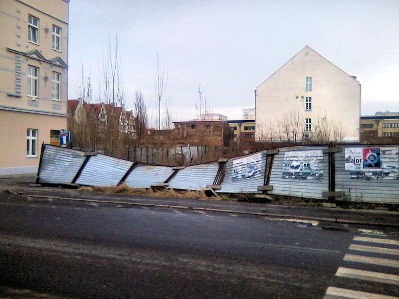 Gdańskie widoki: ulica Szopy - centrum miasta