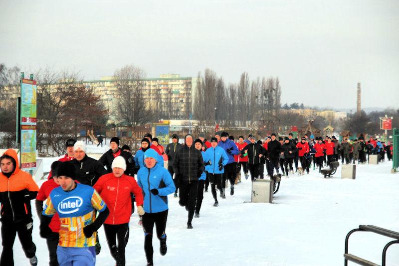 Parkrun Gdańsk. 5 kilometrów przez śnieg