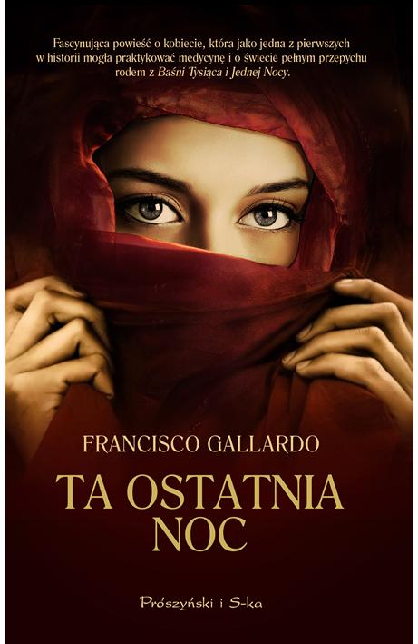 """Powieść """"Ta ostatnia noc"""" Francisco Gallardo"""