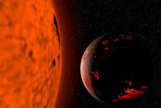 Kiedyś i Słońce stanie się czerwonym olbrzymem...                            Foto: NASA