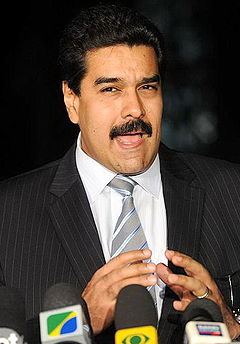 Nicolas Maduro - następca Hugo Chaveza.