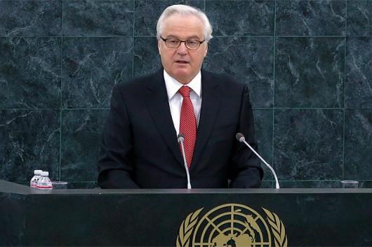 Ambasador Rosji przy ONZ - Witalij Czurkin.                              Foto: Reuters