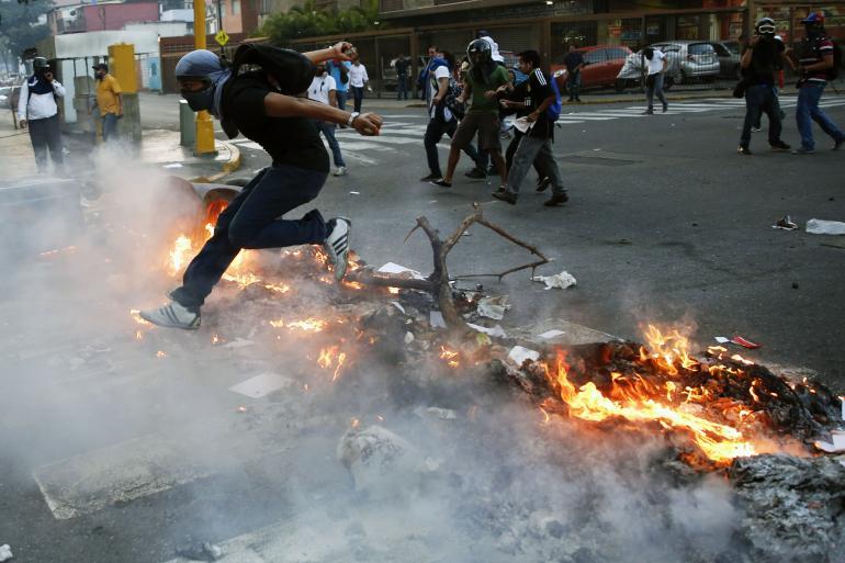 demonstracje-wenezuela
