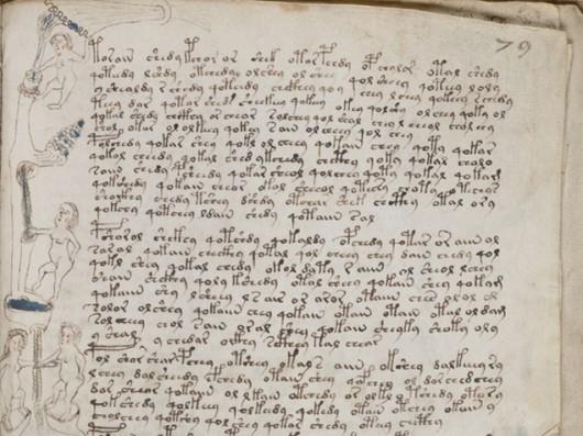 Manuskrypt  Voynicha Foto: Yale University