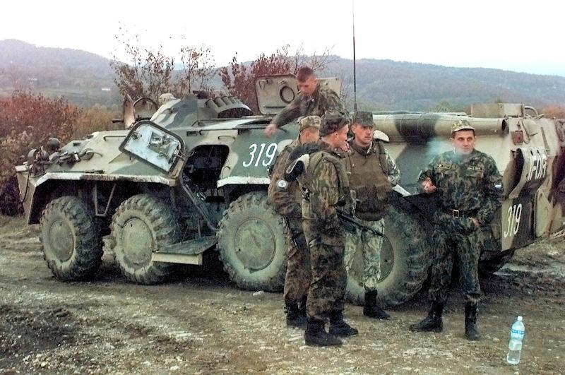 Armia rosyjska wypuściła internowanych żołnierzy ukraińskich