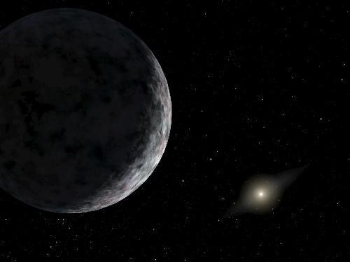 Vesmír - Slunce - nová  planeta  2003-UB313