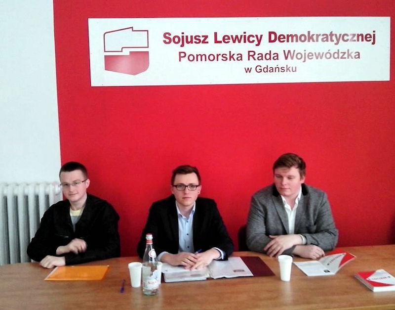 Młodzi socjaldemokraci z Gdańska z nowym przewodniczącym