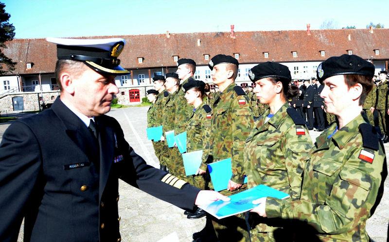 Elewi zakończyli szkolenie i dołączą do Narodowych Sił Rezerwowych