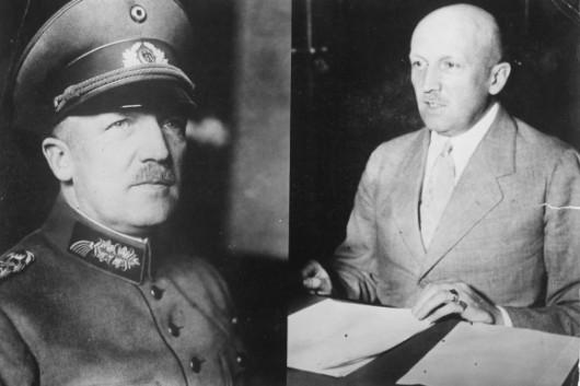 Były generał i knaclerz Rzeszy Niemieckiej Kurt von Schleicher