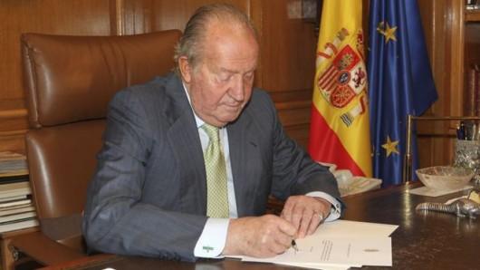 Abdykacja króla Hiszpanii Juana Carlosa