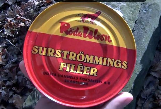 Surströmming czyli szewdzki przysmak nie dla każdego