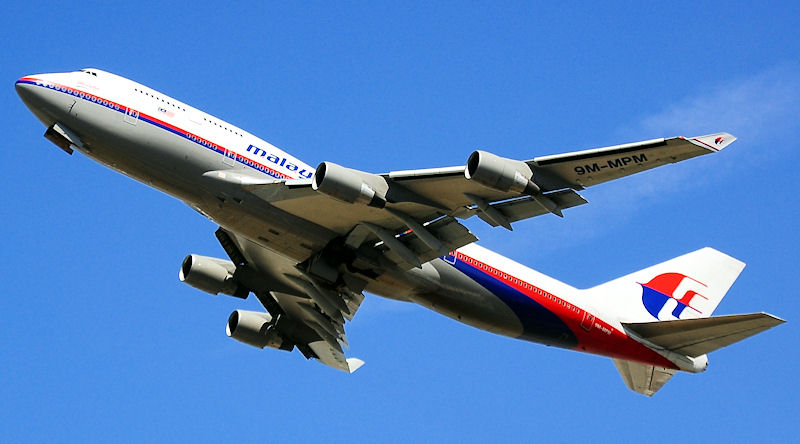 Boeing 747-4H6 - Malaysia Airlines (9M-MPM)
