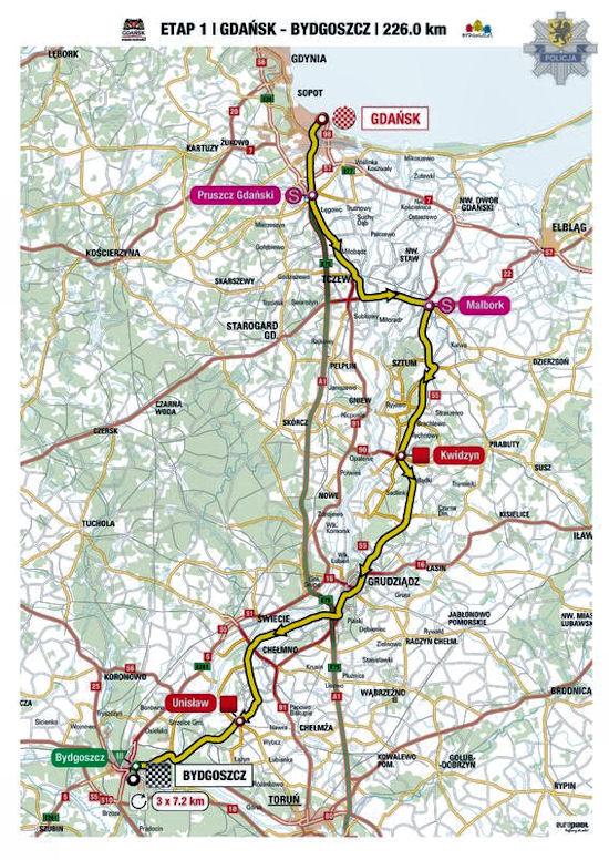 71. Tour de Pologne w Gdańsku
