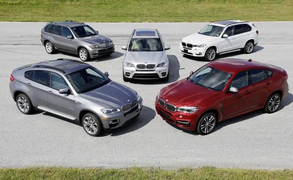 15 lat modeli BMW serii X