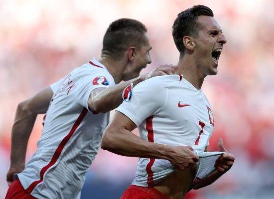 Polska - Irlandia Pó³nocna 1:0, 12.06.2016, gol: Milik